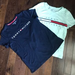 Two Tommy Hilfiger T-shirts